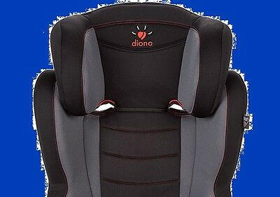 Diono Cambria Booster Seat with Back 31010-US-02 - Graphite, New with Tags!!!