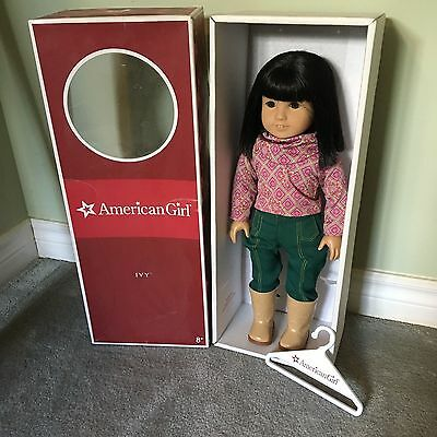American Girl Doll Ivy In Box Perfect Girl of the Year with ACCESORIES