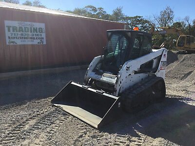 2011 Bobcat T180 Tracked Skid Steer Loader w/Cab!