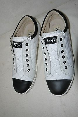 96fba40b0f UGG AUSTRALIA JEMMA Quilted Patent Leather Sneakers ~ Size 9 ...