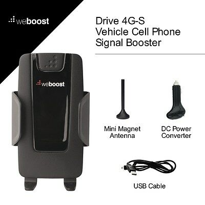 Wilson weBoost Drive 4G-S Car Cradle Cell Phone Signal Booster Kit - 470107