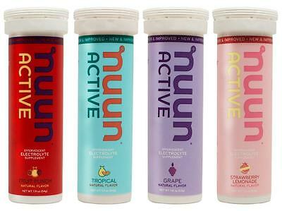 Nuun Active Hydrating Drink Tablets, Juice Box Mix, 4 count