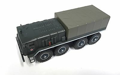 Maz-535A Russia Army Military Vehicle 1:72 Scale - Diecast Tank Panzer Gun 6