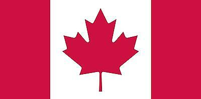 Flags Unlimited Canadian Flag 36 Inchx72 Inch