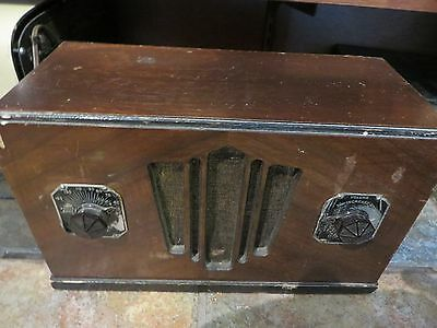 antique radio Rogers Majestic Model R-371 Working condition