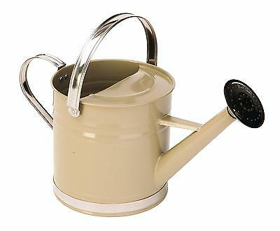 Panacea 84870 Metal Traditional Painted with Chrome Trim Watering Can, 3.2...