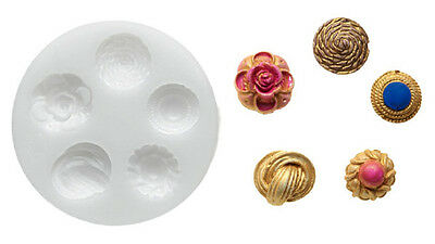 Silikomart Silicone Mould - Buttons - Fantasy