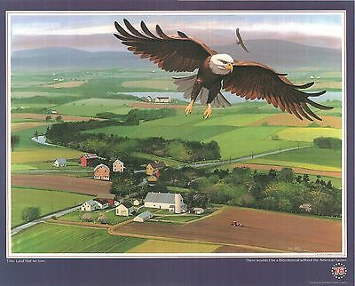 """1976 Allis Chalmers Poster """"Land that we Love"""""""