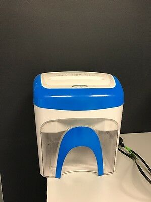 EC Ledah SX2000 Desktop Paper Cross Cut Shredder