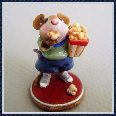 Wee Forest Folk Mousie's Matinee - M-288 - Retired -