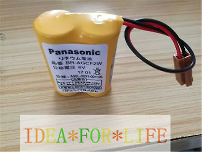 1PCS Panasonic BR-AGCF2W 6V Battery A98L-0031-0011 CNC machine Tool #T3042 YS