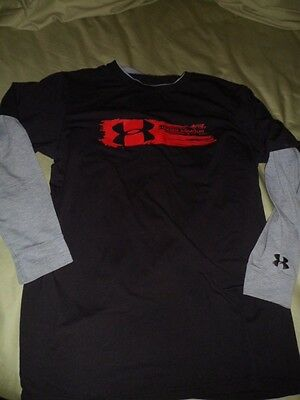 Under Armour Boy's Long Sleeve Heatgear Great For Spring Size Xl