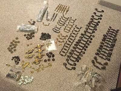 HUGE LOT Vintage Drawer Pulls Furniture Hardware Gorgeous Unique Over 200 Pieces