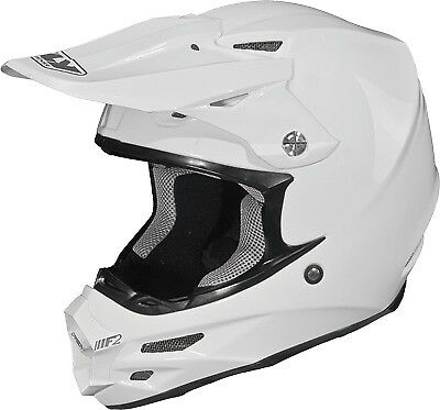 White 73-40092X Fly F2 Carbon Solid Helmet White 2X-Large