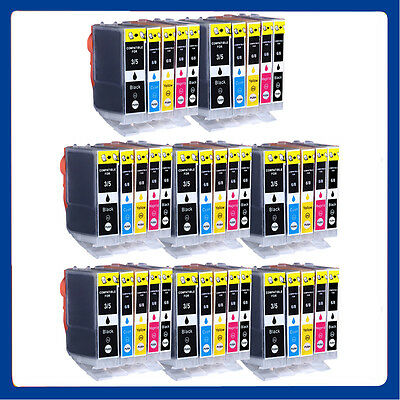 40 Ink Cartridges for Canon Pixma iP4200 IP4300 iP5200 MP500 MP600R MP800R MX850