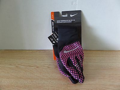 Nike Therma-Fit Elite 2.0 Printed Women's Running Gloves - Small