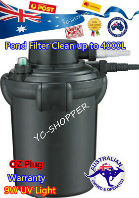 NEW MODEL Jebao PF-10E Bio & UV Outdoor Pond Filter 9W - Perfect for 4000L Pond