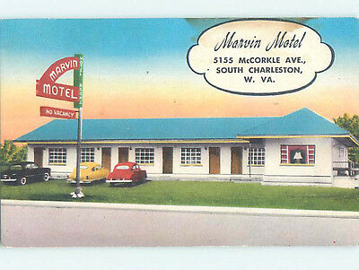 Linen MARVIN MOTEL IN SOUTH CHARLESTON Charleston West Virginia WV M6284