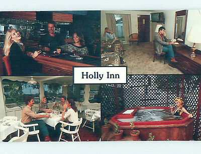 Unused 1980's HOLLY INN RESTAURANT Eagle Pass Texas TX L1286