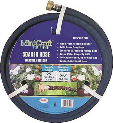 Landscapers Select HOSE-25-B-53L Soaker Hose 5/8 in OD x 25 ft L Recycled Rubber