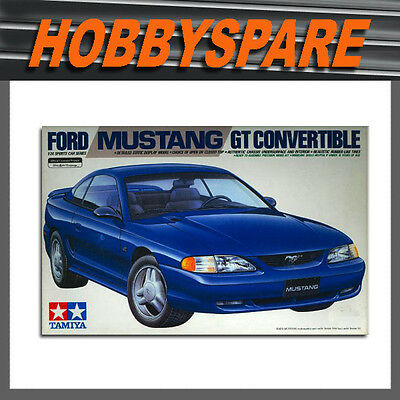 Tamiya 1/24 1994 Ford Mustang Gt Convertible Model Kit 24141