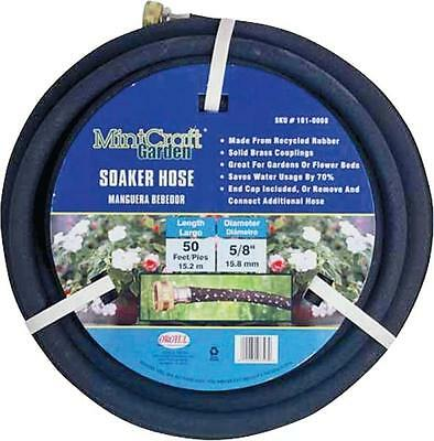 Landscapers Select HOSE-50-B-53L Soaker Hose, 5/8 in OD x 50 ft L, Rubber