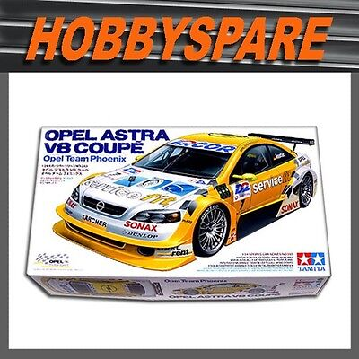 Tamiya 1/24 Opel Astra V8 Dtm Coupe Opel Team Phoenix Model Kit 24243