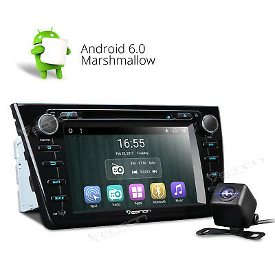 Backup Cam+In Dash Unit for Mazda 6 Android 6.0 Car DVD Player Radio Stereo 3G W
