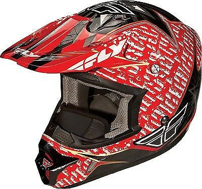 73-4912S Fly Aurora Helmet Red Small