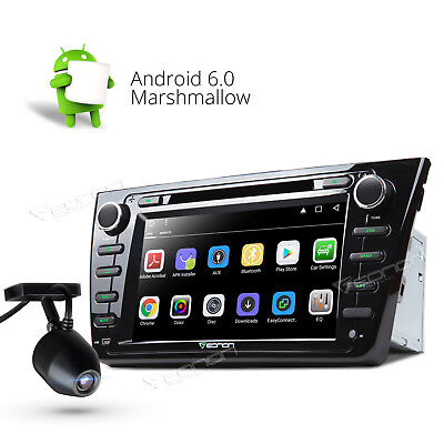 """Android 6.0 3G WIFI 8""""Double 2DIN Car Radio Stereo DVD Player for Mazda 6 W DVR+"""