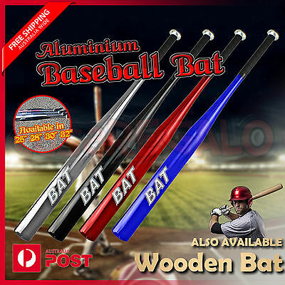 Baseball Bat Racket Softball Outdoor Sports Aluminium High Quality Wooden