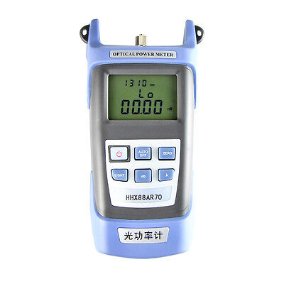 FTTH Fiber Optic Optical Power Meter -70~+3 dBm FC/SC Connector Cable Tester