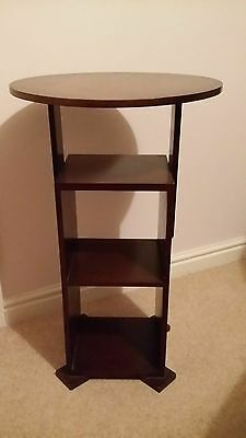 ANTIQUE DARK OAK SHELF /DISPLAY UNIT - Collection only!