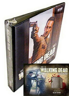 2012 Walking Dead Season 2 Factory Sealed Binder w/ M33 Bus Walker Costume Card