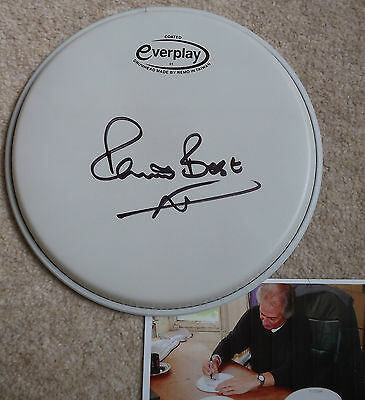 The Beatles Free Post Autographed Remo Everplay drumskin signed by PETE BEST