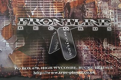 "10 x Frontline Records Collection 12"" Vinyl Bargain Records Pack *Drum and Bass*"