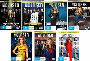 The Closer COMPLETE COLLECTION Season 1 2 3 4 5 6 7 : NEW DVD