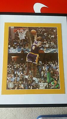 Signed Kobe Bryant Authentic signed vintage number 8  autographed c.o.a