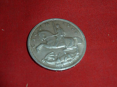 1935 - King George V - Rocking Horse - Silver Crown - Coin - English Uk