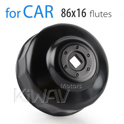 Vehicle Car 86mm 16 flute oil filter wrench cap for Volvo S60 NSW AU STOCK