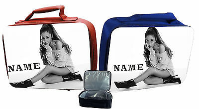 Ariana Grande #2 Personalised Childs Insulated Lunch Bag - Red Or Blue