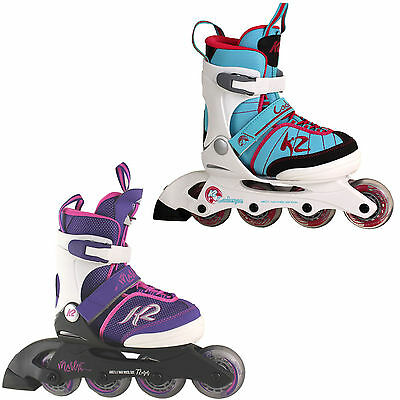K2 Children's Roller blades Girl Rollerblades size adjustable Marlee Cadence NEW