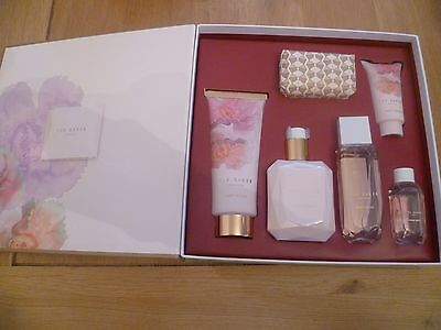 Ted Baker In Full Bloom Gift Box 6 Items Soap Spray Wash (Female Gift Present)⭐️