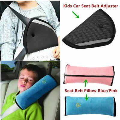 Baby Children Car Safety Seat Belt Pillow Strap Soft Shoulder Pad Headrest CI