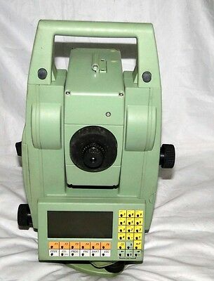 """LEICA TCRA1103 Plus 3"""" ROBOTIC TOTAL STATION FOR SURVEYING W/O CHARGER"""