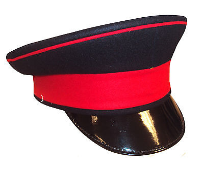 British Army Royals Peaked Cap With Red Band - Size 51 - New - Rl914