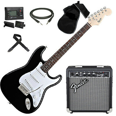 FENDER Squier Stratocaster Bullet chitarra elettrica + Amplificatore -TOTAL SET