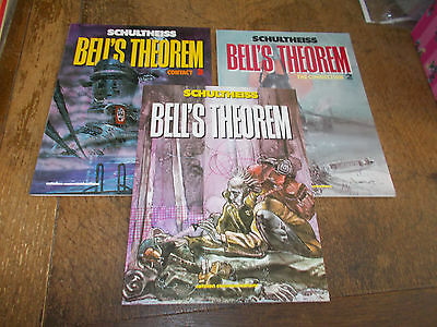 Bell's Theorem - Set of 3 books by Matthias Schutheiss - 1st printing Catalan