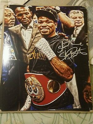 shawn porter signed 16x20 picture