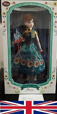 Frozen Fever Anna limited edition doll 17""
